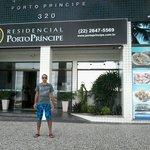 Faxada do  Residencial Porto Príncipe