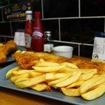 Medium fish and chips