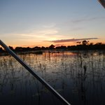 Increcible sunsets; taken on the return from a game drive