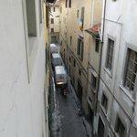 Rua com barulho