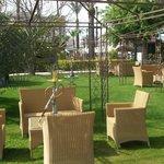bong garden in the hotel grounds