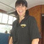 Julia welcomes us on board