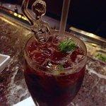 Black and Blue Mojito - Rumbar at the Ritz