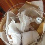 Breakfast basket : (