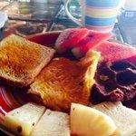 Daily breakfast .