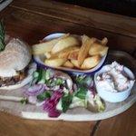 fantastic food at knitsley mill!