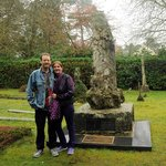 At Alfred Russel Wallace's grave