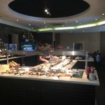 The main buffet