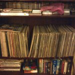LPs and books