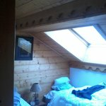 Small double room.  Low beam, mind your head!