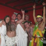 Toga Party Birthday for Glyn