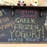 Making Frozen Yogurt, starting April 11th!