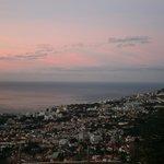 lever du jour sur Funchal
