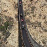 Hanging bridge at Wild Canyon Adventures