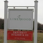 Limewood Hotel sign from main road