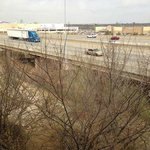 View Out Our Window - I-44 is VERY close and VERY loud