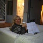 Gerda Bender geniet van het leven....!