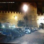 Le mura Aureliane del 400, Porta Tiburtina,a fianco al ristorante