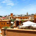 Terrase Riad eva Marrakech