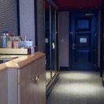 Door to room and closet