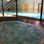 Boblebad og svømmebasseng