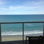 View from oceanfront balcony
