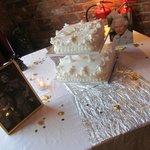 cake on diplay