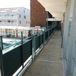 Balcony/hallway