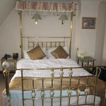 Very ornate bed... very comfy too