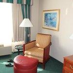 Eagan, Hilton Garden Inn, Room #321, Sitting Area