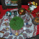persian new year table