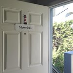 Front Door to Maverick'ss Room
