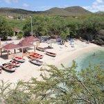 Lagun Beach from the restaurant
