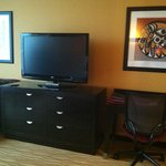 TV console in room
