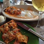 flatbread with lobster