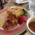 bread pudding dessert