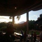 Sun set at the pool bar with the best Rasta bar tender ever Chris!