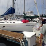Sail San Diego on Shelter Island.Ask for Captain Greg
