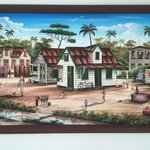 Original artwork with themes from Suriname