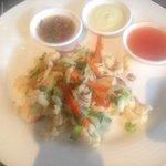 Salt chilli squid
