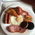 Delicious full Irish breakfast!