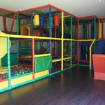 Jungle gym inside Sunrise Playroom.