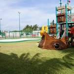 Outdoor play area of Sunrise Playroom.