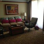 living room - 1 bed room villa