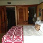 king bed - 1 Bed room villa