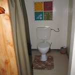 Separate toilet area with privacy