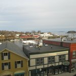 From our balcony overlooking harbor