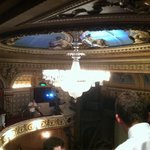"Historic Queens theatre in London with ""Les Miserables"""