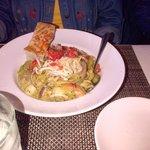 Seafood pasta - VERY good