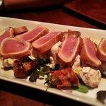 Pan seared Tuna. Absolutely incredible.